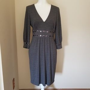 David Meister Embellished Size 10 Dress